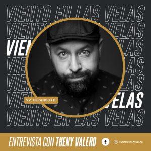 Theny Valero en el podcast Viento en las Velas